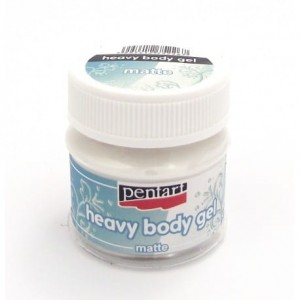 Heavy body gel - 50 ml, matowa opalizująca