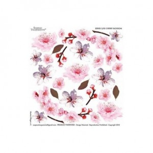 Folia do sospeso, nadruk - cherry blossom